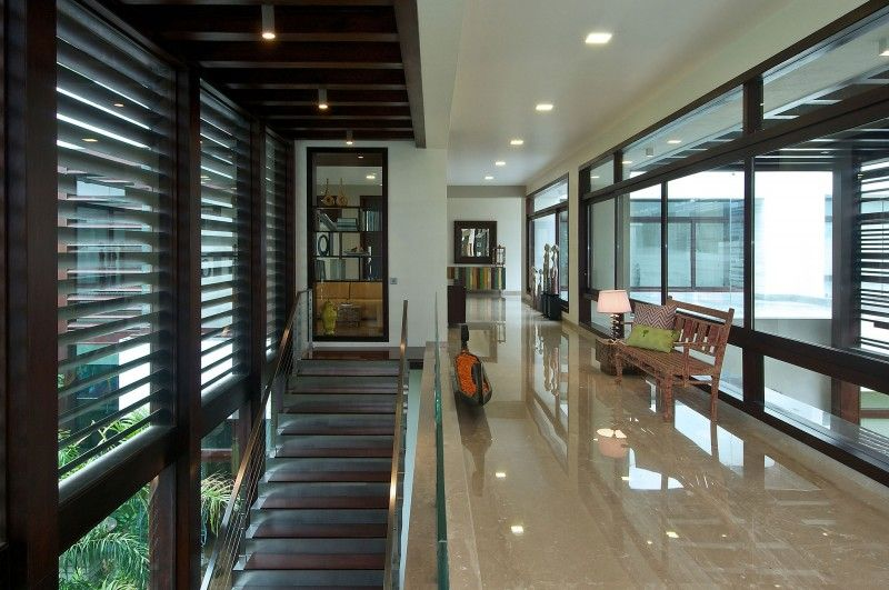 The Frill House by Hiren Patel Architects 07 Habitat Pinterest