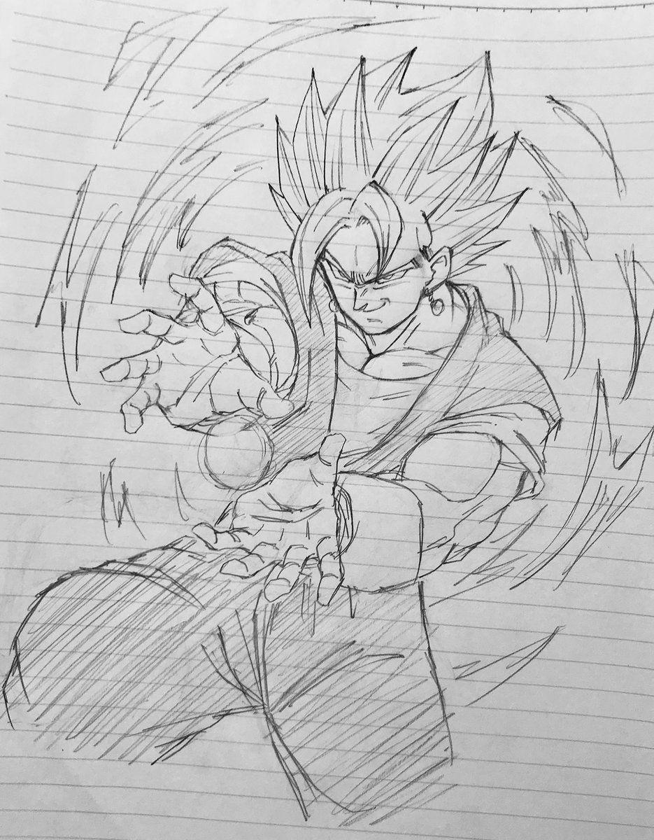 Vegetto Blue Vegeta Desenho Como Desenhar Anime Lapis De Desenho