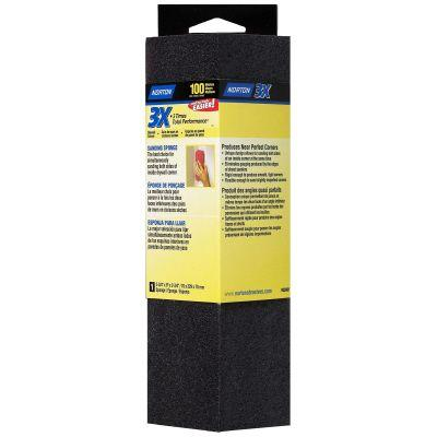 Norton 3-3/4 in. Medium Corner Drywall Sponge-01715 - The Home Depot