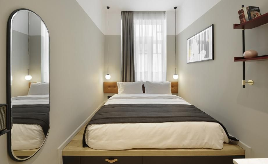 The Modernist Thessaloniki Greece Hotel Room Design Small