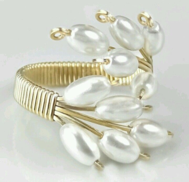 Pin by Marlee Gardner on wire wrapped rings | Pinterest | Wire ...