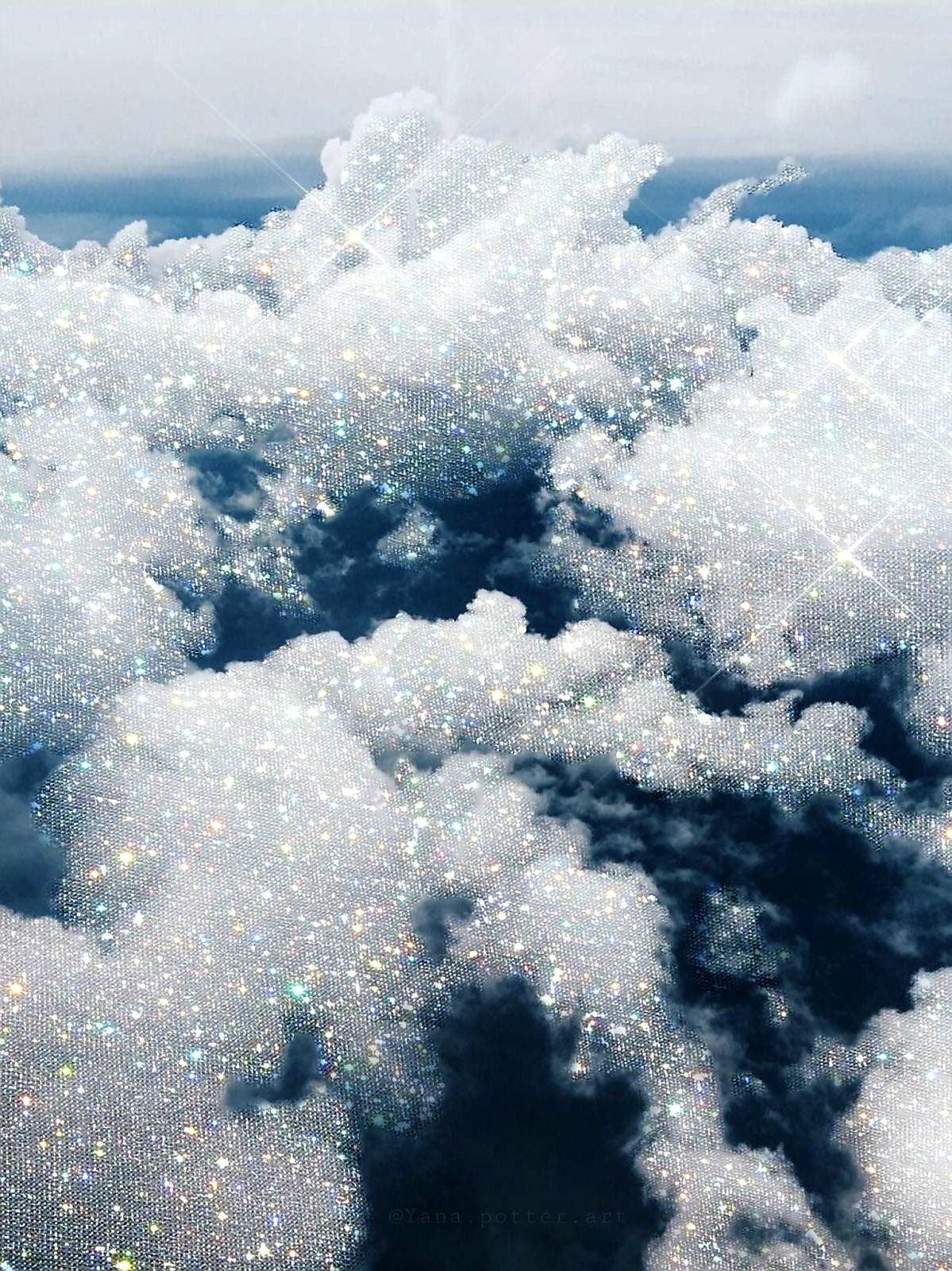 Pinterest Rosyk219 Sky Aesthetic Glitter Photography
