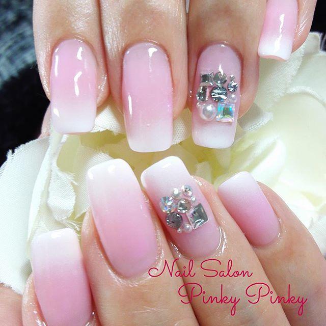 グラデーション #pinkypinky