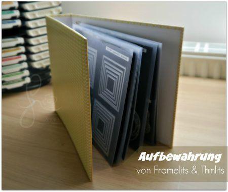 ordnung schaffen aufbewahrung von famelits und thinlits ordner stampin und bastelzimmer. Black Bedroom Furniture Sets. Home Design Ideas