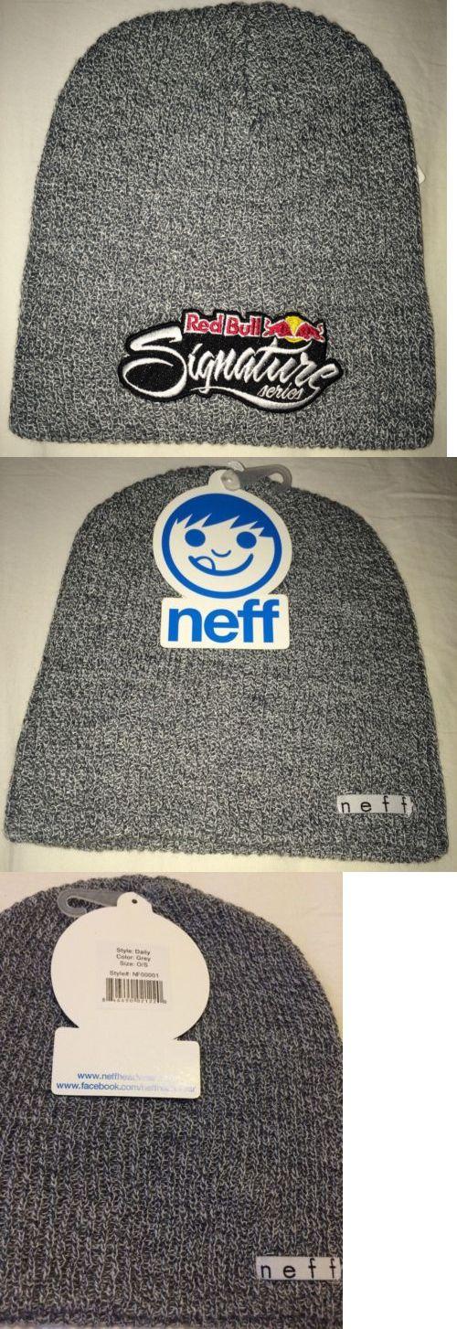 406e49ca531 Hats and Headwear 62175  Original Neff Red Bull Signature Series Beanie  Snowboard Athlete Brand New