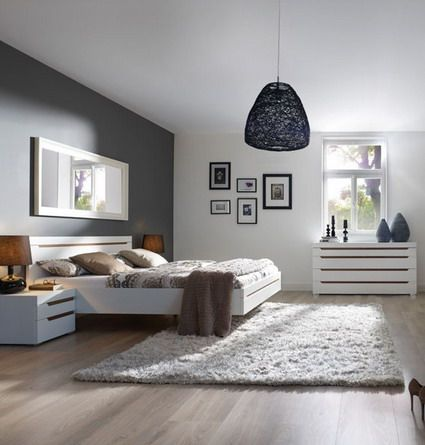 Habitacion gris habitacions pinterest colores grises - Combinacion colores habitacion ...