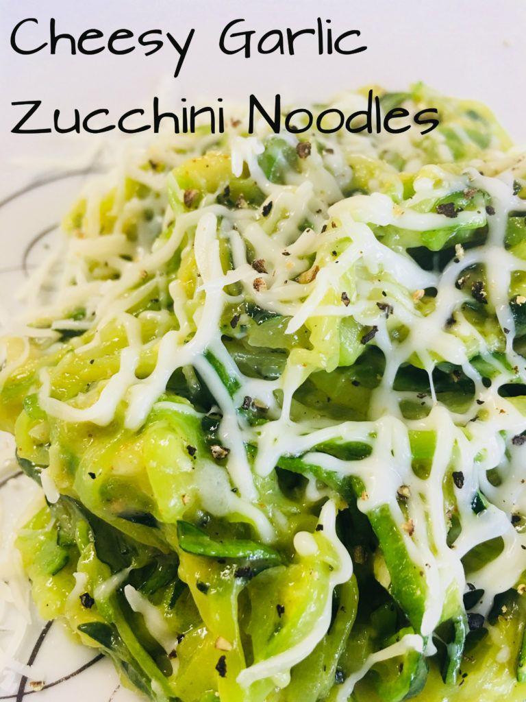 Cheesy Zucchini Noodles