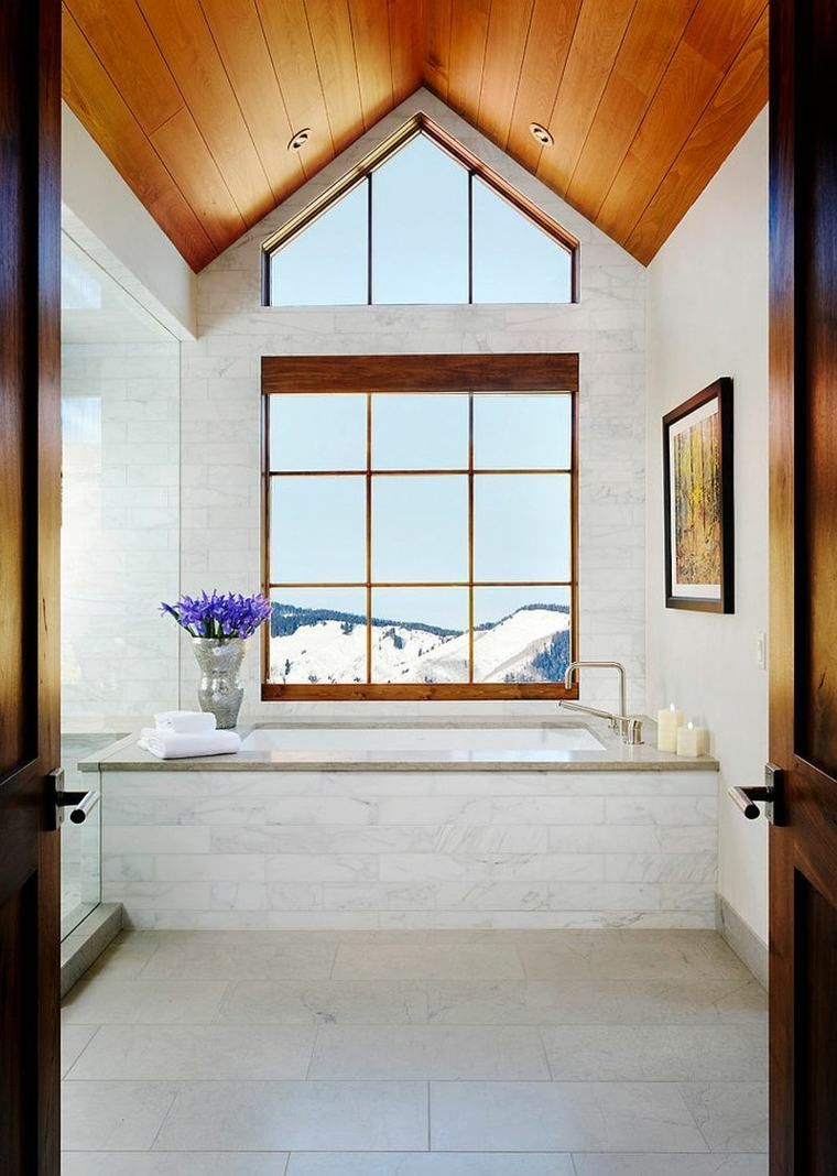 Salle De Bain Avec Vue ~ salle de bains design avec vue magique sur les montagnes pinterest