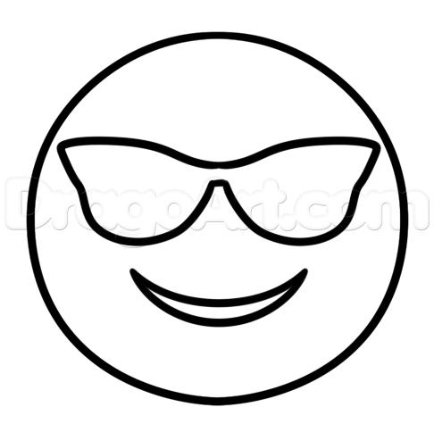 Steps How to Draw a Emoji Emojis