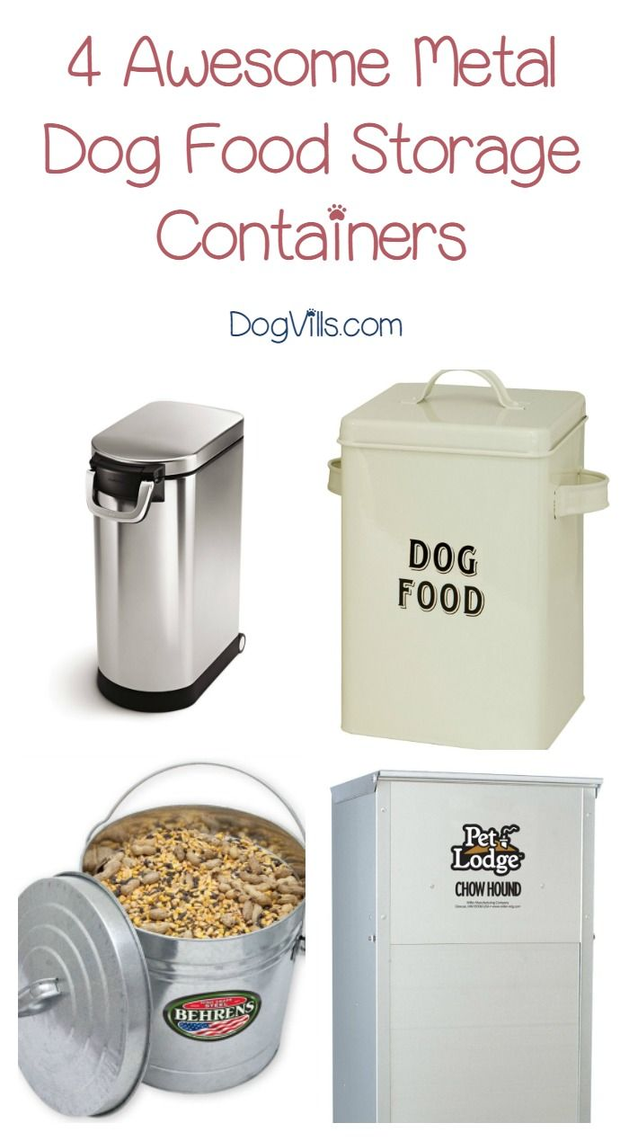 Top 5 Best Metal Dog Food Containers To Try Dogvills Dog Food