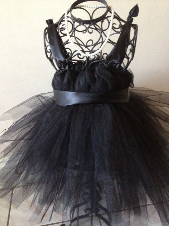 Aubrey Hepburn tutu/ black tutu by Babyboutiquebycp on Etsy