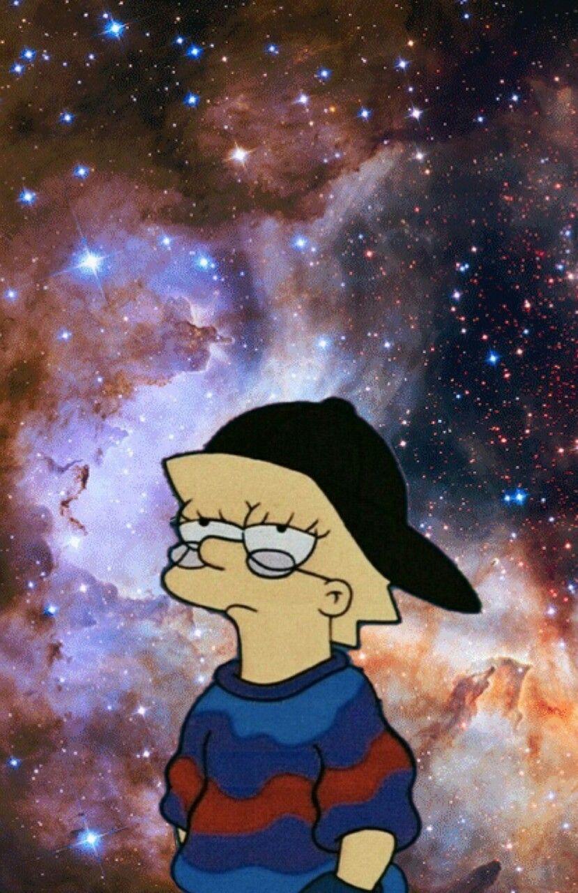 Lisa Simpson Em 2020 Arte Simpsons Wallpaper De Desenhos