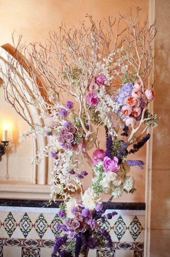 Wedding reception flower idea; Featured Photographer: Tec Petaja