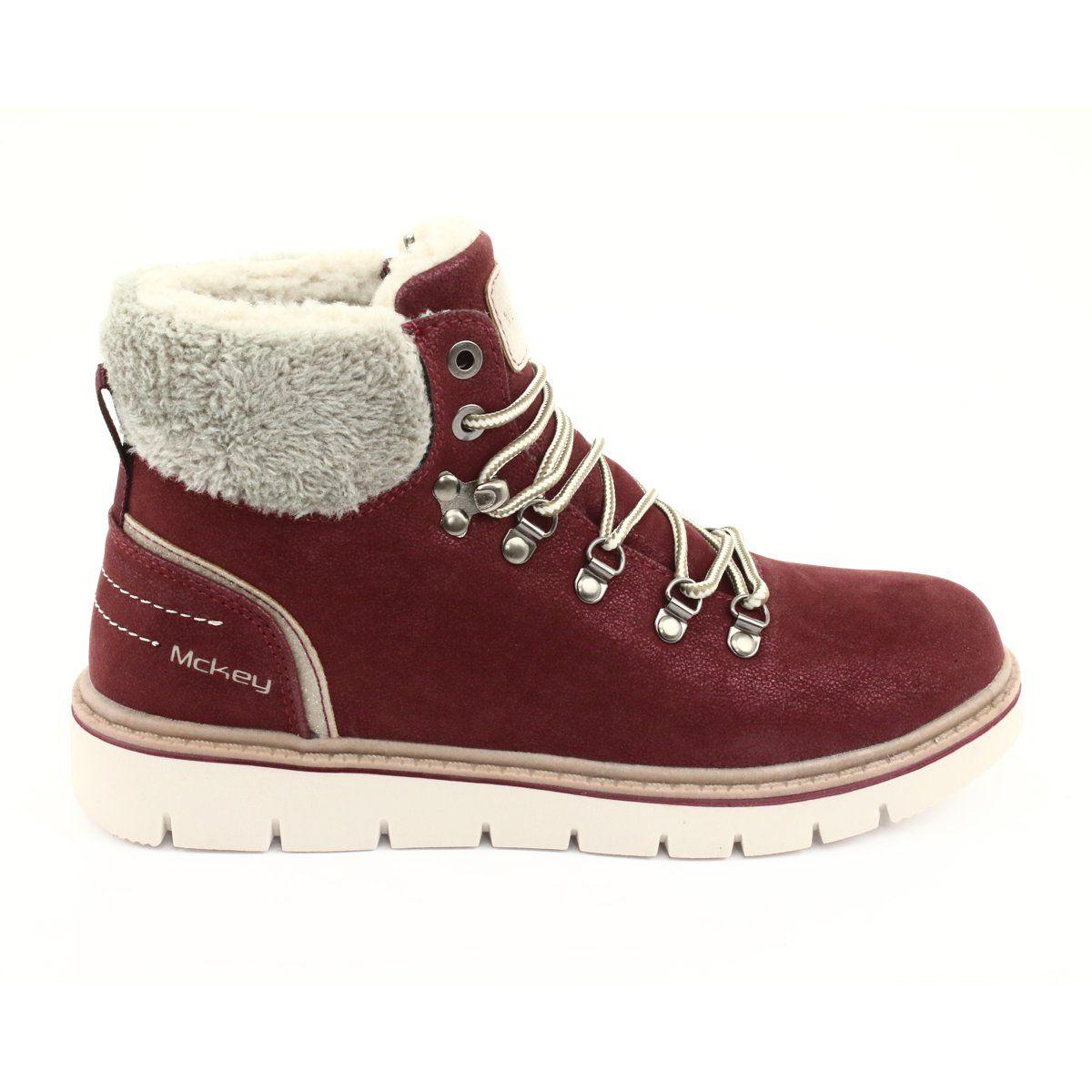 Trekking Women S Mckey Mckey 1072 Winter Lace Up Boots Winter Shoes For Women Boots Lace Up Boots