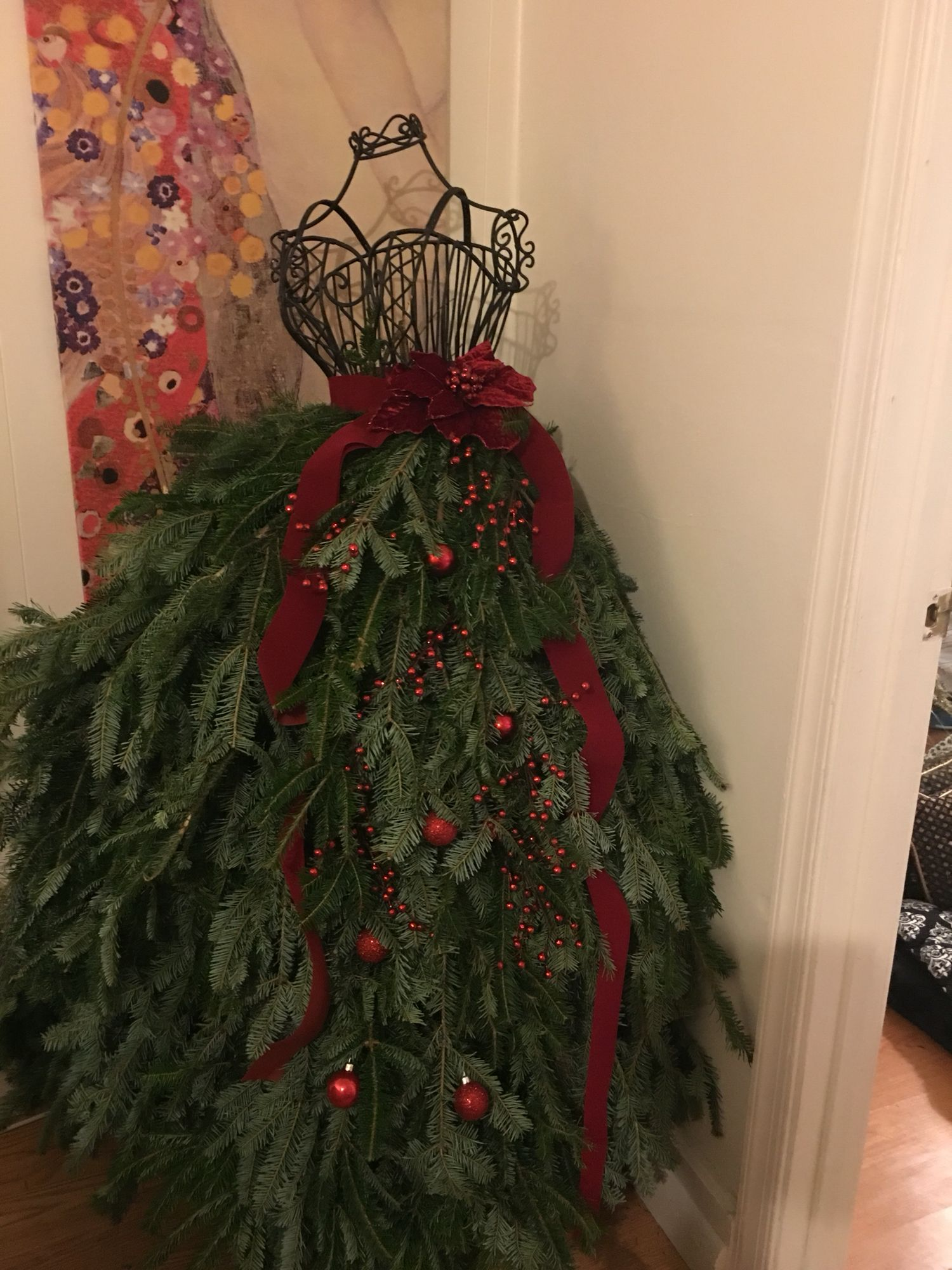 dress form christmas tree - Christmas Tree Dress