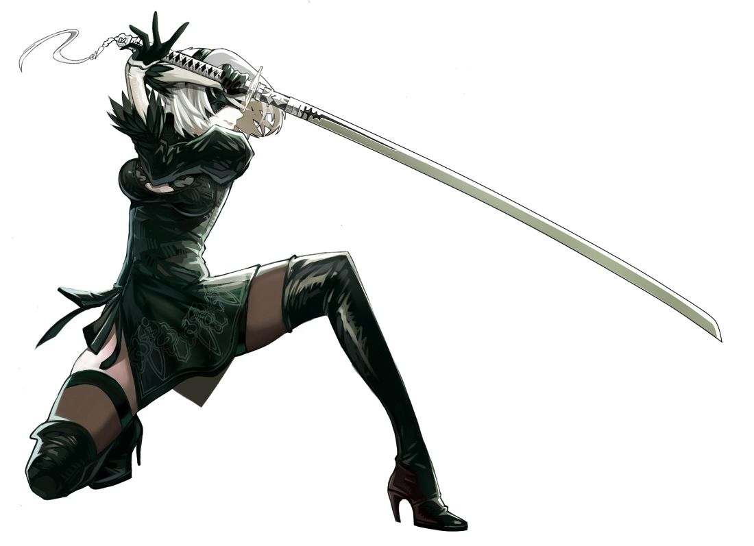 Anime Characters Using Sword : Pin by kaitlin mcelfish on idea s pinterest nier