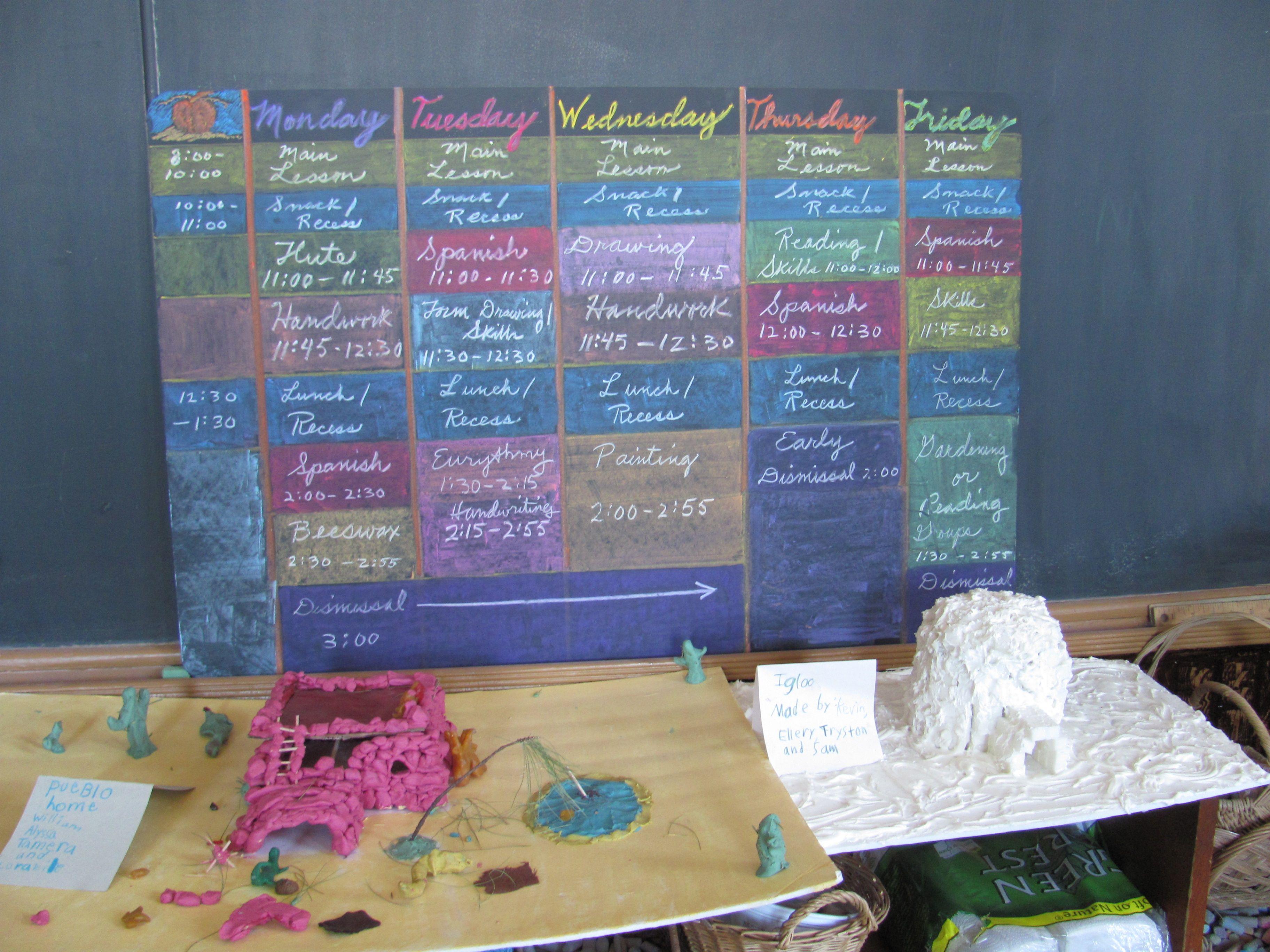 Grade 3 School Schedule And Houses