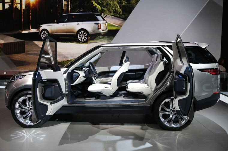 The 2015 Land Rover Discovery Vision Concept New York