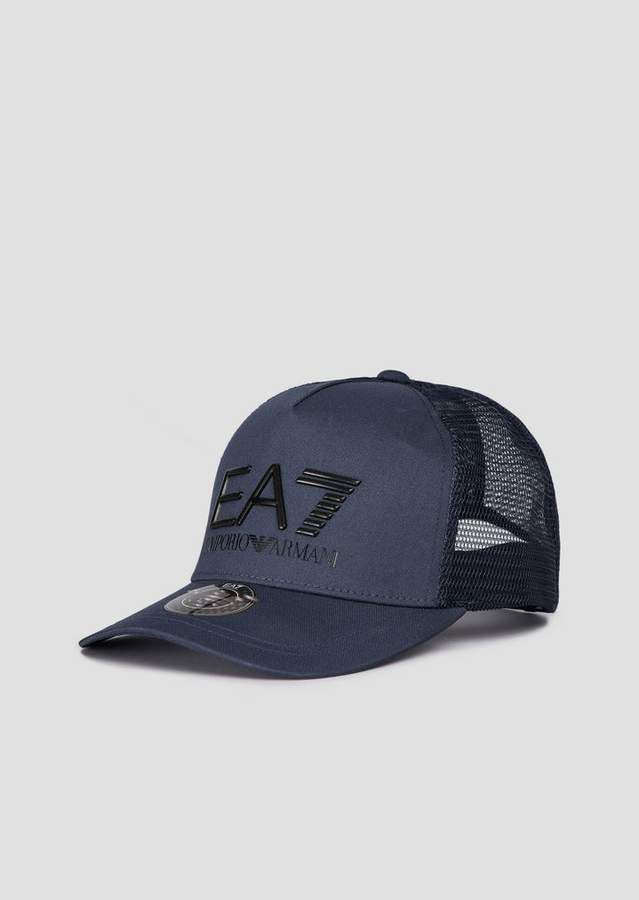 be45ab1203 Emporio Armani Ea7 Baseball Cap With Mesh And Logo | Products in ...