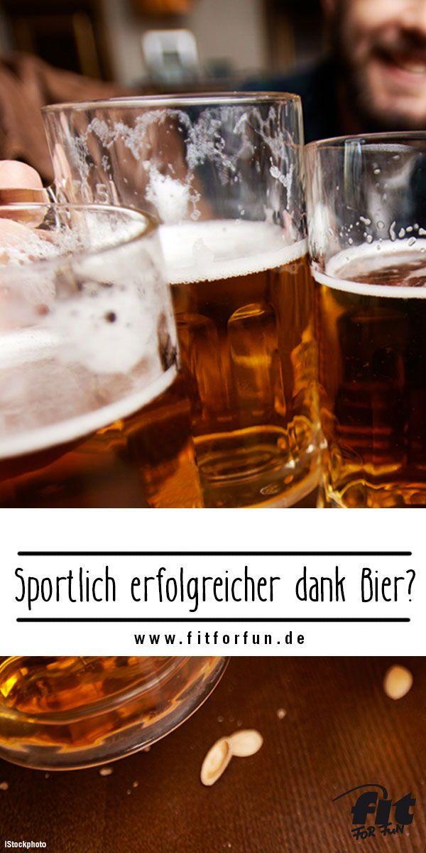 Alkoholfreies Bier: gesund und gut auch für Sportler..