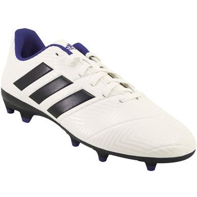 1ec363e72 Adidas Nemeziz 18.4 Outdoor Soccer Cleats - Womens White Ink