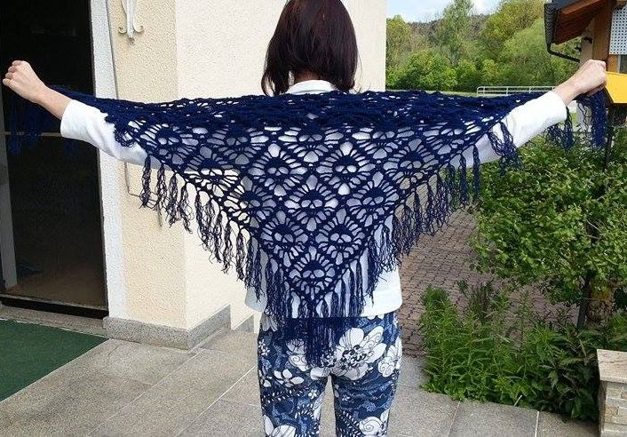Totenkopf Tuch Häkelpower Crochet Pattern Und Diy