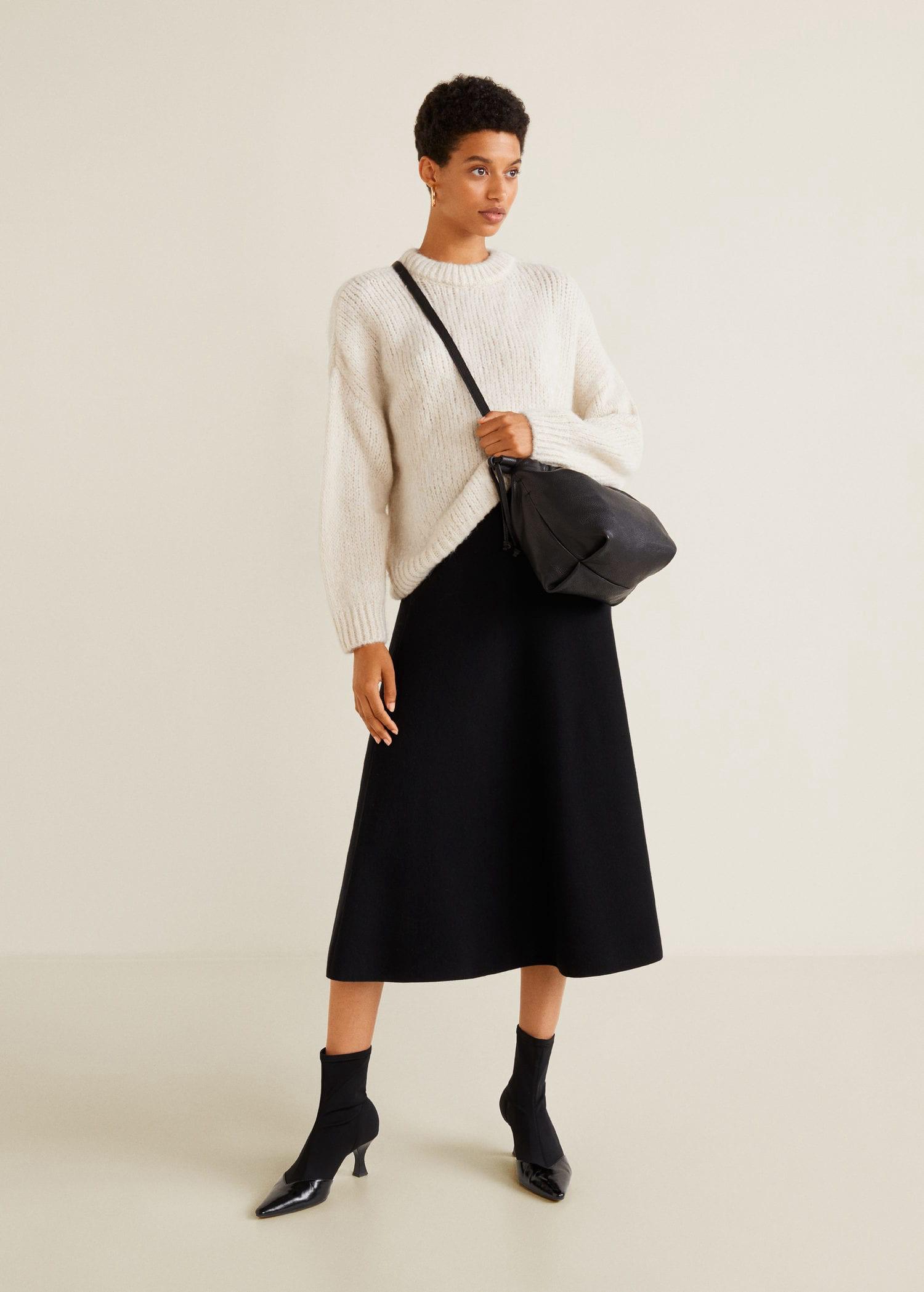 18bdfa0236 Mango Flared Long Skirt - XS | Products | Long skirts for women ...