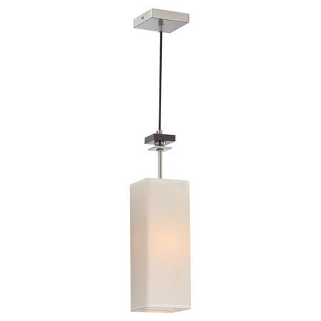 Found it at Wayfair - Tomed 1 Light Pendant in Steel