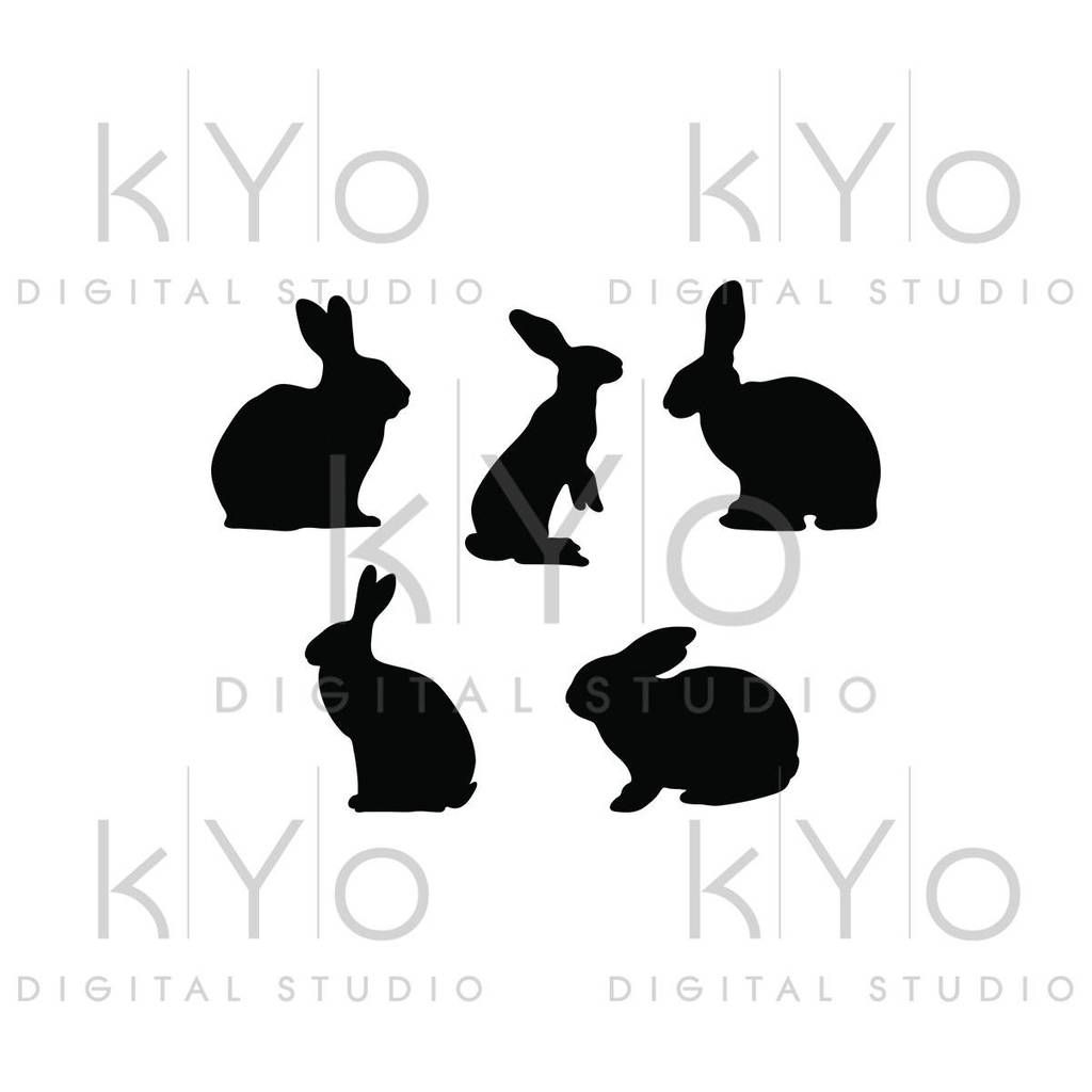 Bunny Svg Rabbit Svg Easter Bunny Svg Animal Silhouettes Svg Png Studio3 Dxf Love Svg Easter Bunny Silhouette Commercial Use Svg For Cricut In 2021 Bunny Silhouette Bunny Svg Animal Silhouette