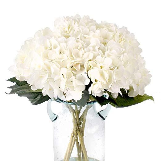 Amazon Com Kimura S Cabin Artificial Silk Hydrangea Flower 3pcs Hydrangea Flowers Bouquet Home W In 2020 Silk Hydrangeas Flowers For Sale Silk Hydrangeas Arrangements