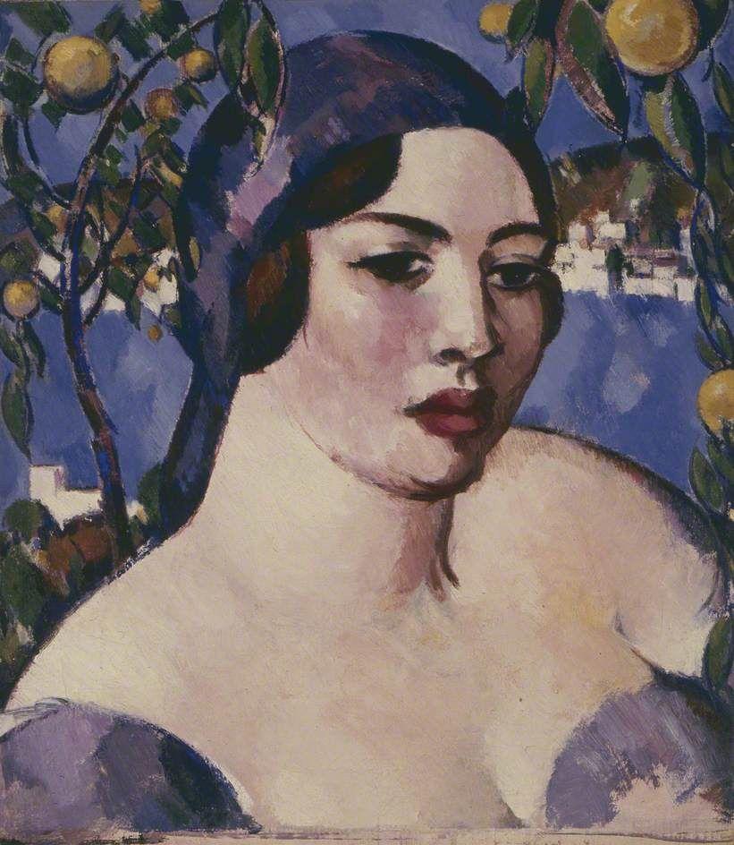 'Head of a Lady', John Duncan Fergusson.