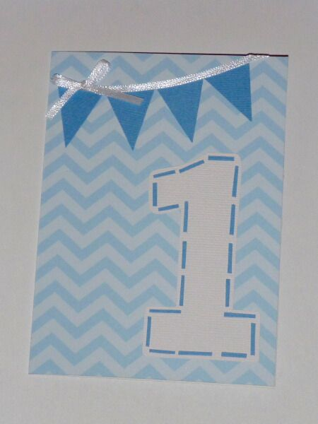 1st Birthday Card Synttrit Pinterest Cards Kids Cards And