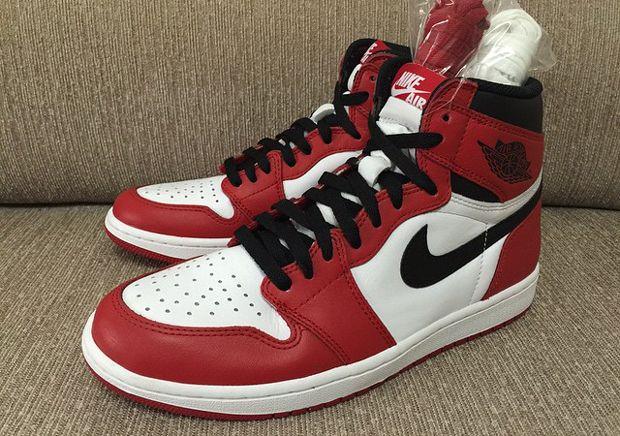Air Jordan 1 Retro High Og White Red Sneakernews Com With