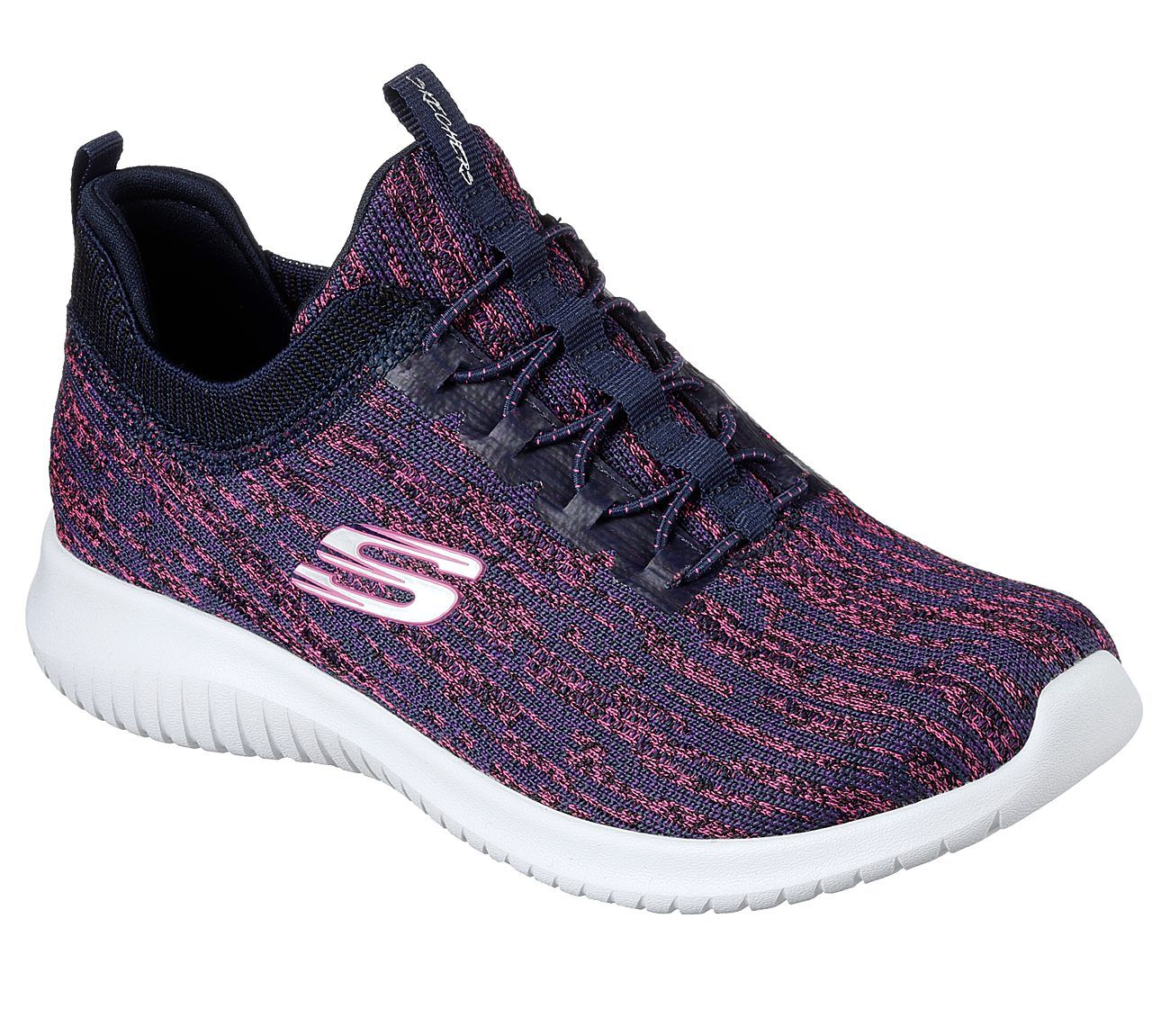 Ultra Flex Bright Horizon | Lace sneakers, Skechers