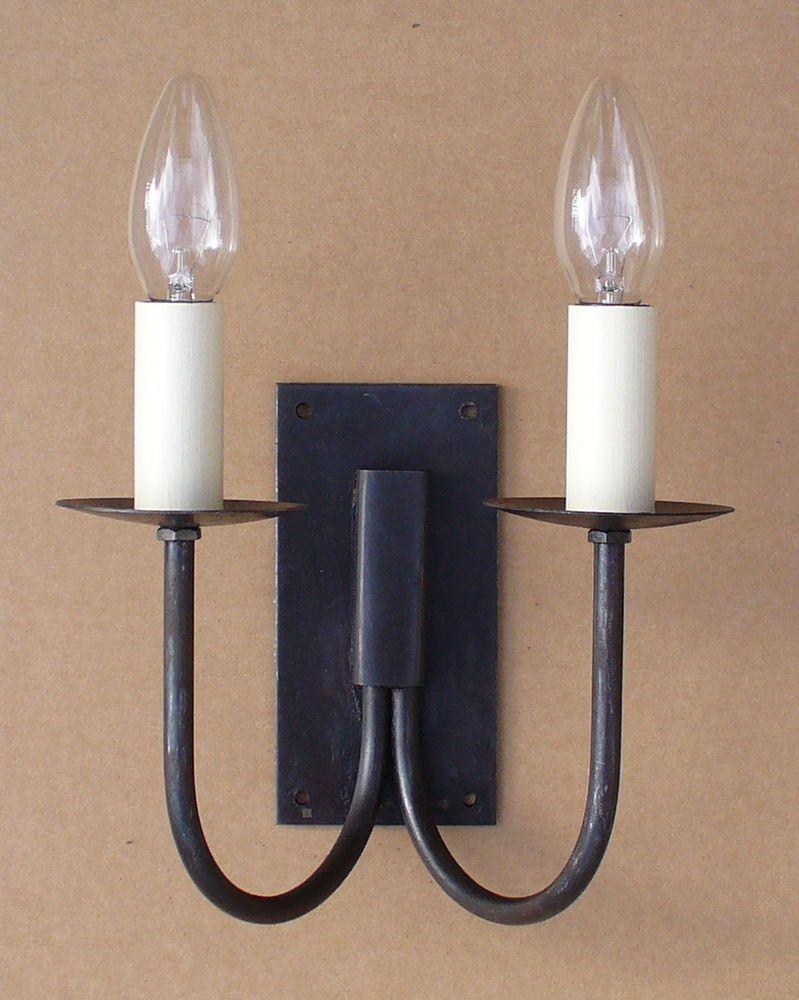 Wrought iron lanterns uk 42 best shisha lounge images on pinterest rustic cottage double wall light set hand forged wrought iron black aloadofball Images