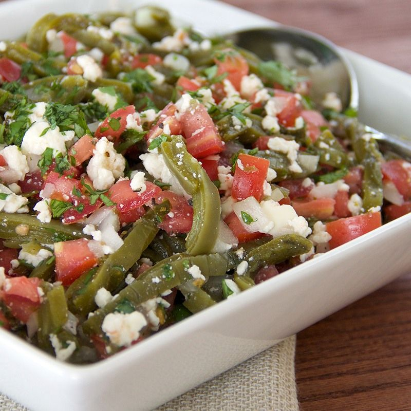 Southwestern Cactus Salad Recipe — Dishmaps