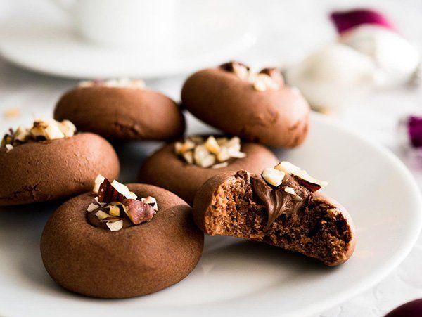 كوكيز النوتيلا الشهي مطبخ سيدتي Recipe Fast Cookies Recipe Cookie Recipes Nutella Recipes