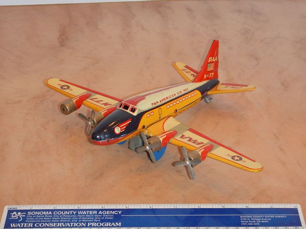 Electronic, Battery & Wind-up Alps Tin M-50 Friction Powered Tin Lithograph Toy 1950s