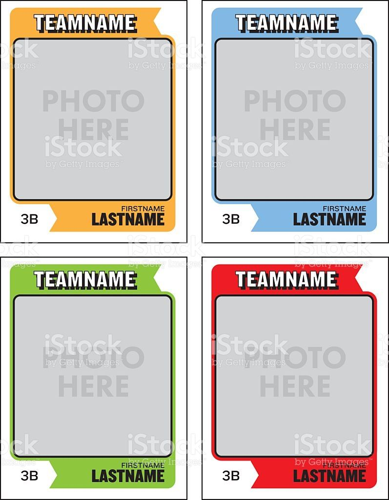 Create Your Own Baseball Cards With These Great Templates Add Your Trading Card Template Card Templates Free Baseball Card Template
