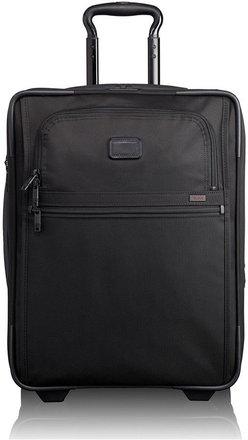 ab08e40235 Tumi - Alpha Travel Continental Expandable 2 Wheel Carry-On - Black ...