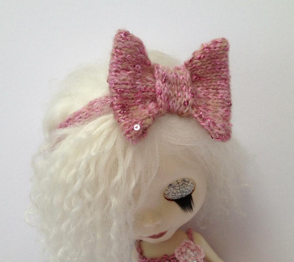Beautiful Bow Headband for Blythe   bratz and blythe doll ...