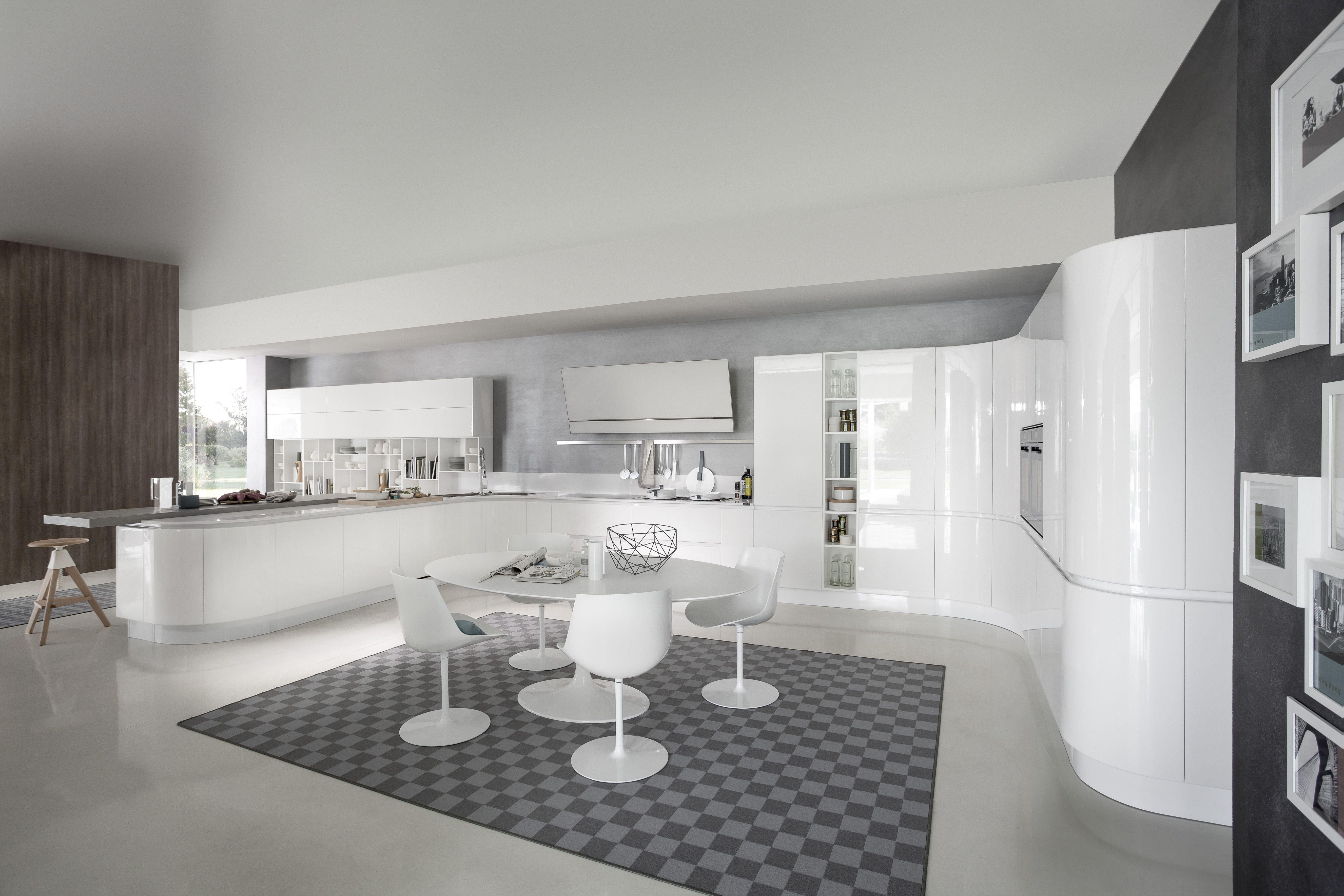 Artika Italian Kitchen Design Classic Kitchen Design Curved