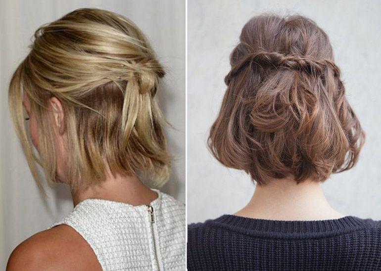 seis ideas de peinado para pelo corto