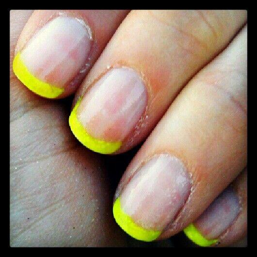 yellow neon tips