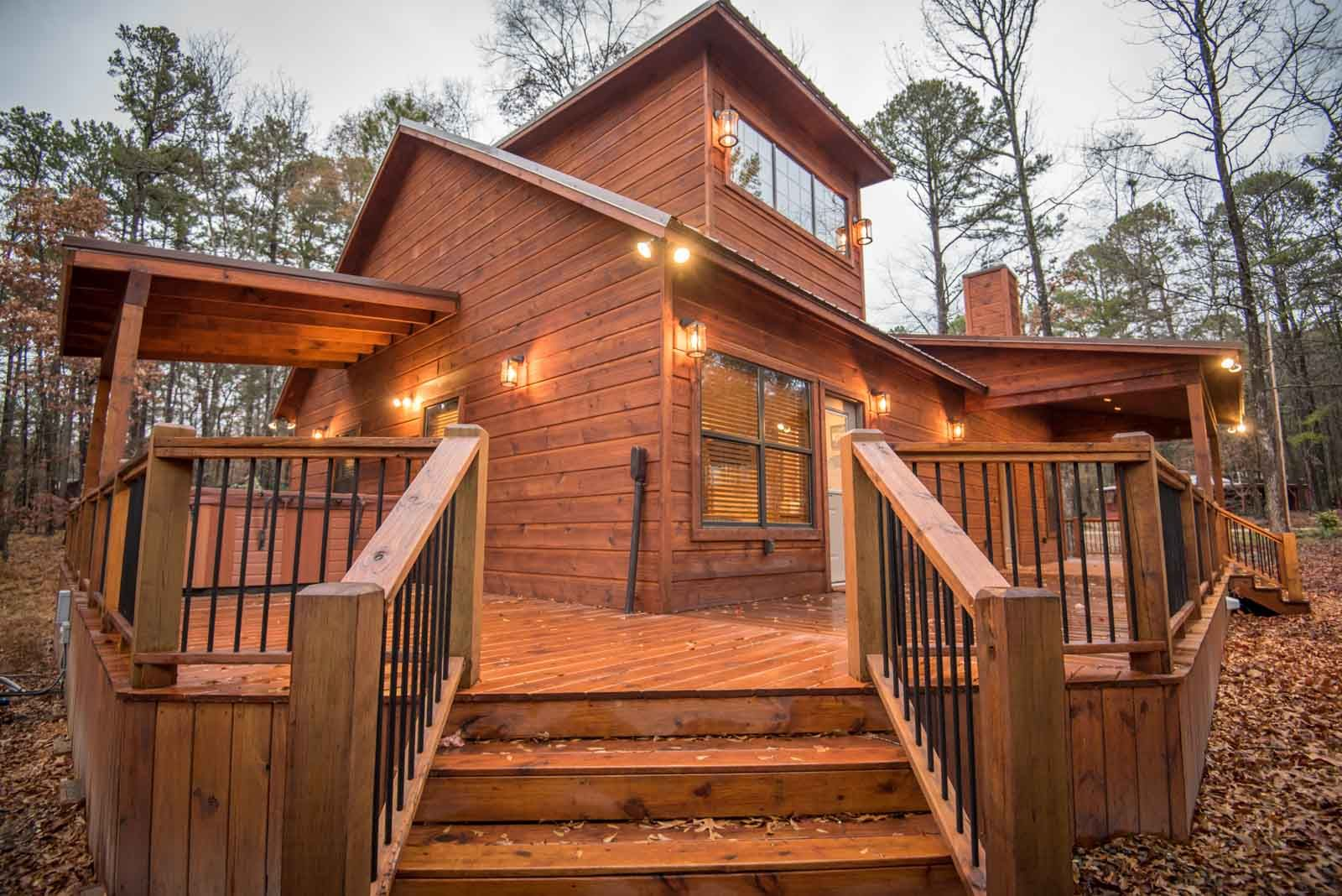 All Decked Out Cabins In Broken Bow Deck Broken Bow Cabins Broken Bow