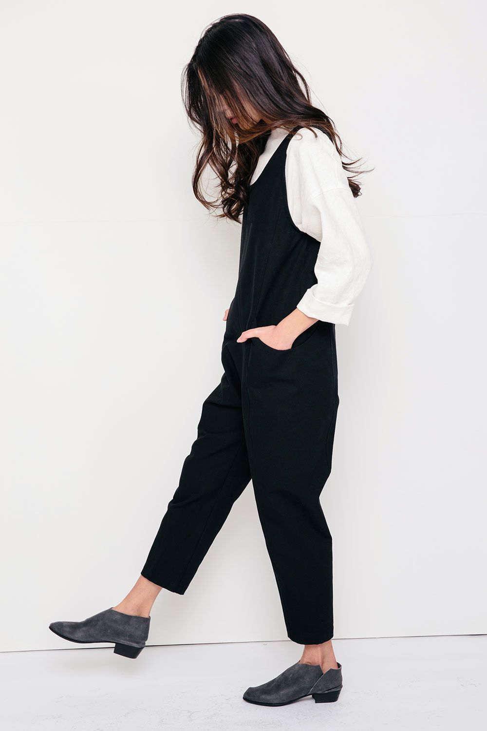 b6bf5a48d32 Clyde Jumpsuit in Cotton Canvas in 2019