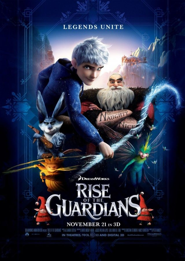Rise Of The Guardians Poster 18 640x905 Jpg 640 905 Coole Filme Filme Serien Filme