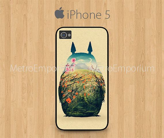 Totoro iPhone 5 Case Cover by MetroEmporium on Etsy, $15.79