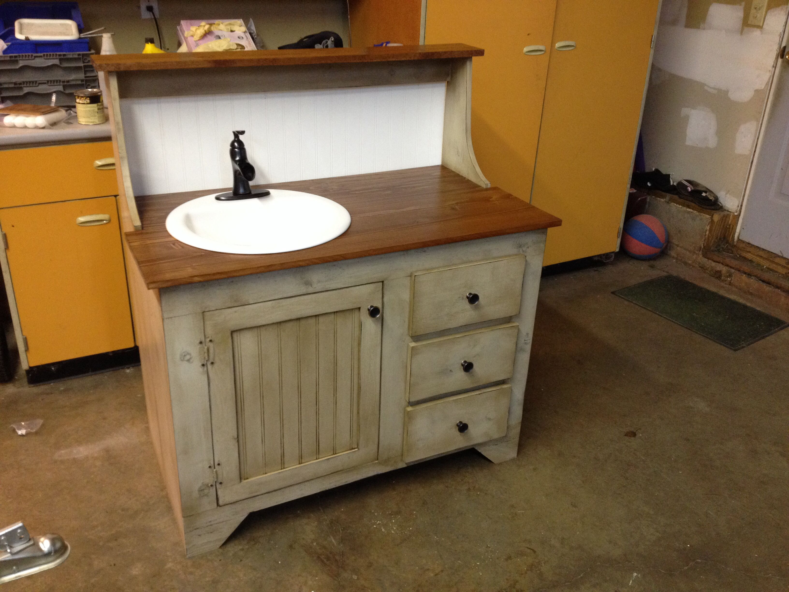 Dry Sink Bathroom Vanity Appalachian Mountain Primitives In