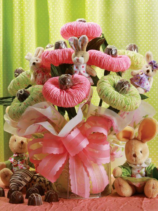 Tissue paper flower bouquet | Gift wrap ideas | Pinterest | Flower ...